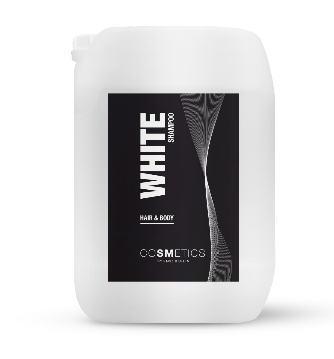 White Hair-Body Shampoo 10 L