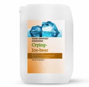 Sauna-Dampfbad Konzentrat Crying-Ice Bear 5L