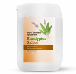 Sauna-Dampfbad-Konzentrat Eukalyptus mit Salbei 5L